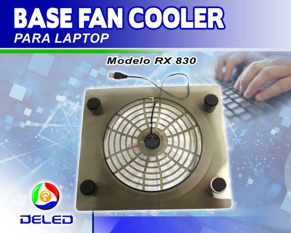 Base Fan Cooler Para Laptop - Modelo Rx 830