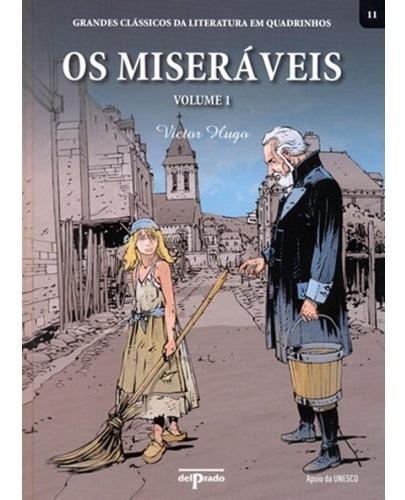 Livro Os Miseráveis Volume 1 - Clássicos Da Literatura