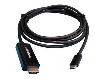Cable Usb Tipo C A Hdmi Envíe Contendio A Tv Netmak Tch2 1.8