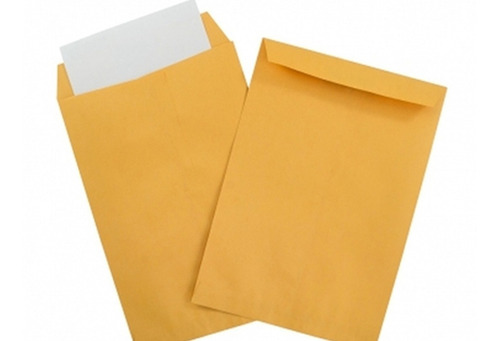Sobres De Manila Carta Amarillos  Precio Paq X 50 Unidades