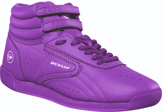 Zapatillas Botitas Deportivas Mujer Dunlop Freeway Hi