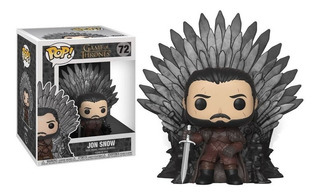 Funko Pop! Game Of Thrones-jon Snow En El Trono 72 Original