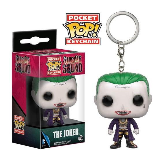 The Joker Ss Pocket Pop! Keychain Funko Llavero Figura