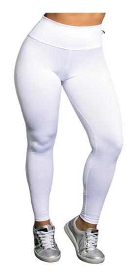 Calça Modeladora Cos Alto De Cotton Grosso + Brinde