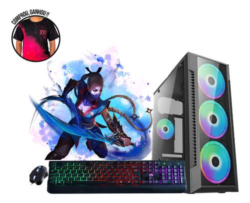Imagem 1 de 6 de Pc Gamer Cpu Intel I5 7400 8gb Ddr4 Ssd 240gb