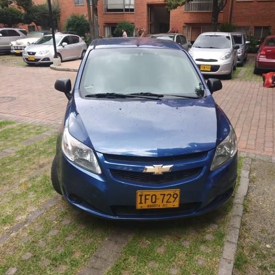 Chevrolet Sail Ls 1.4 Litros Azul Noruega - Norte