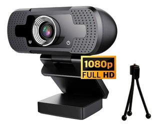 Camara Web Webcam Pc Full Hd Microfono 1080p Noga + Tripode