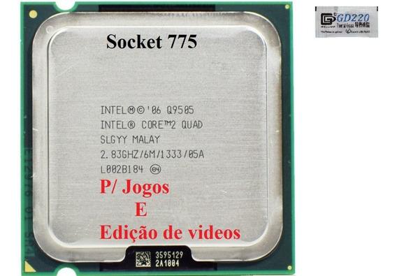 Processador Intel Super 2quad Q9505 2.83ghz 775 Semi Novo