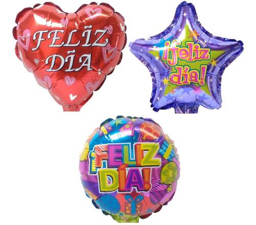 Globo Feliz Día Metalizado