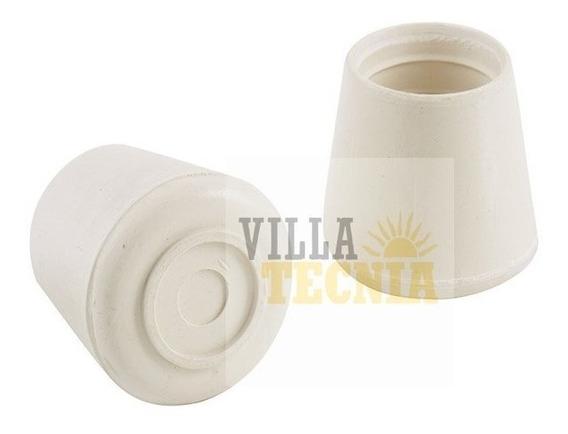 Tapón De Goma Blanco Para Banco Silla Mesa 1-1/8