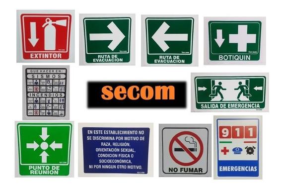 Kit - Paquete De Señalamientos De Protección Civil
