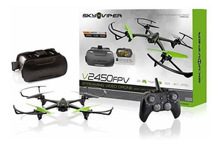 Sky Viper V2450fpv Streaming Drone With Fpv Goggles