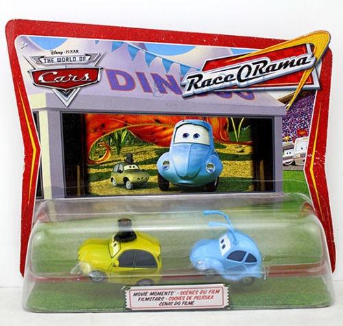 Disney Cars Flik & P. T. Flea - Fusca E Pulga Mattel Mcqueen