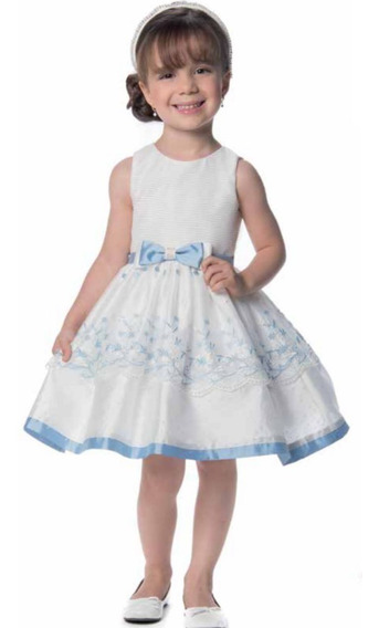Vestido Petit Cherie Branco Infantil Festa 11.12.31150