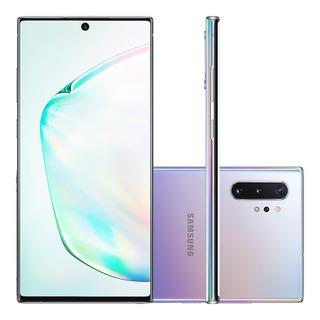 Celular Samsung Galaxy Note 10 Prata 256gb 8gb Ram Tela 6.3