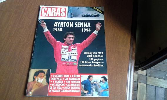 Revista Caras - Ayrton Senna 1960 1994