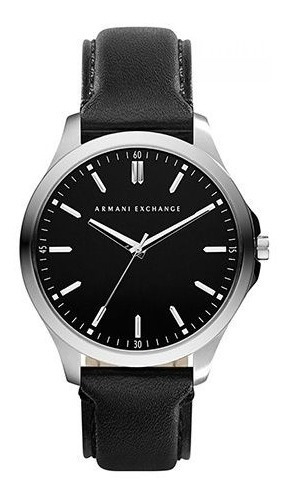 Armani Exchange - Relógio Masculino Pulseira Em Couro E C...