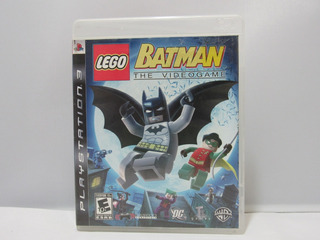 Lego Batman - Ps3 ¡fisico-usado! Sin Manual