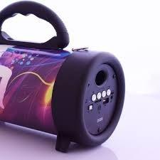 Caixa Som Bluetooth Amplificada Usb Mp3 Radio Fm Sd 300w