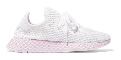 adidas Originals Deerupt Runner Suede-trimmed Mesh