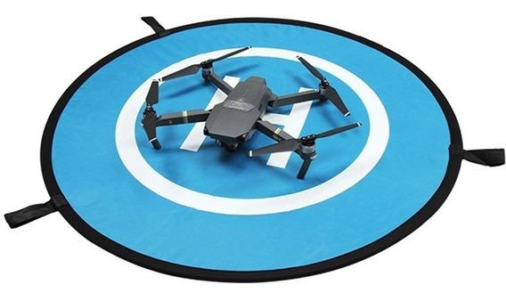 Drone Pad Pista De Landing Pouso 55 Cm Link Desconto Pomoção
