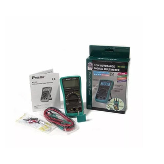 Tester Multimetro Digital Proskit Capacimetro Mt1232