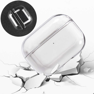 Capa Airpod Pro Porta Fone Estojo Transparente Acrilica
