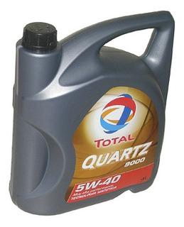 Aceite Total Quartz 9000 5w40 Diesel X4l Peugeot