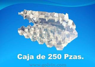 Caja De 250 Pzas. Estuche De Plástico Blister Para 18 Huevos