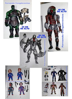 Bootlegs Antivenom Depredador Hulk Ragnarok Chuky Terror