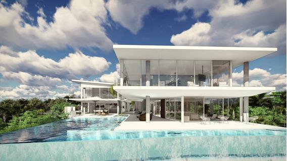 Terreno Para La Construcción Villa De Lujo 5 Hab., Cap Cana