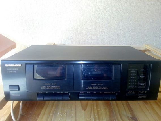 Pioneer Tape Deck Ct-w103 Com Defeito Para Manutenção