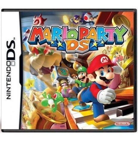 Nintendo Ds Jogo Mario Party Ds