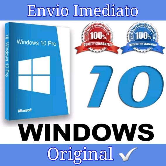 Key-chave-licença Windows 10pro 32/64 Bits-ativação Online|