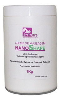 Creme De Massagem Nano Shape Dermare Kg