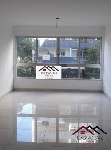 Apartamento 3 Dormitórios Dependência Na Ponta Da Praia Santos Sp - 4322