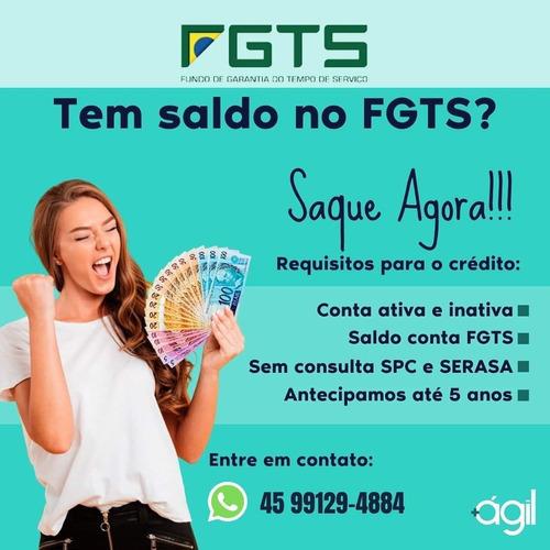 Imagem 1 de 1 de Crédito Fgts