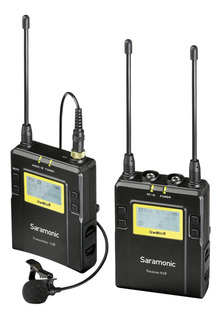 Kit de microfones Saramonic UWMIC9 preto