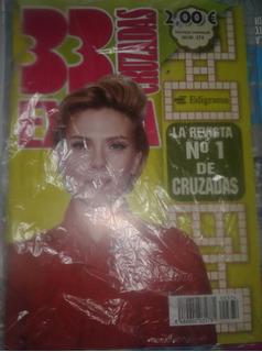 Revista Cruzadas - Scarlett Johansson En Portada