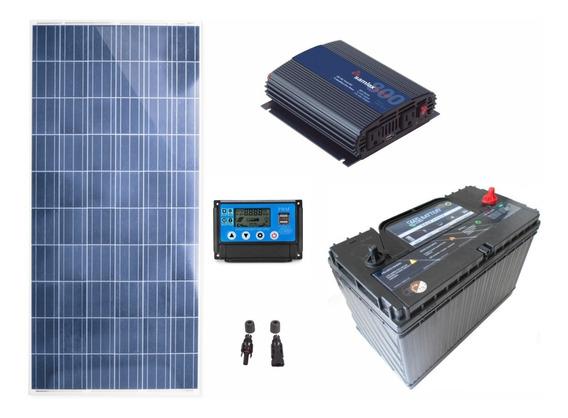 Planta Solar Profesional De 150w 750w Diarios