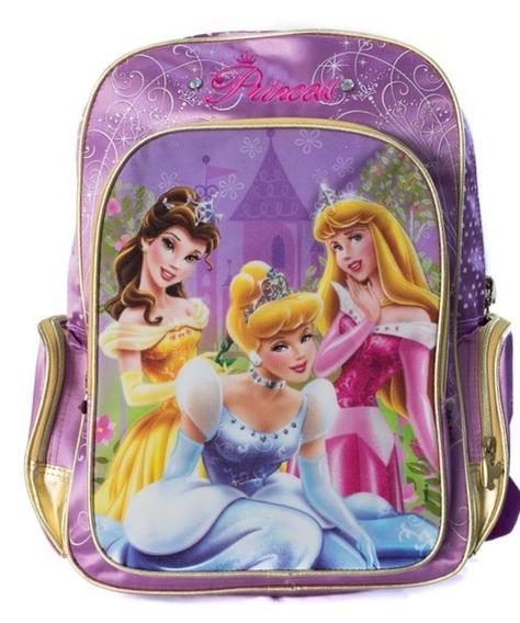 Mochila Princesa Disney 17 Espalda Wabro