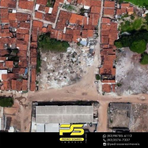 Imagem 1 de 1 de Terreno À Venda, 3.000 M² Por R$ 1.300.000 - Jardim Beta - Cabedelo/pb - Te0271