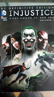 Dc Definitive Edition Injustice Año 1 Vols. 1 Y2