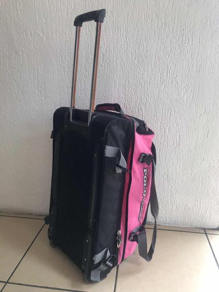 Maleta De Viaje Económica Polo Equipment Rosa
