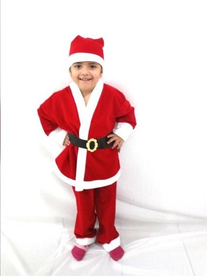 Disfraz (traje) De Santa Claus Niño Navidad
