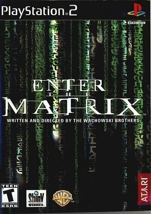 Cinta De Playstation 2 Enter The Matrix