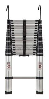 Escada Telescópica Alumínio Multifuncional 4,70 M 16 Degraus