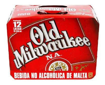 Cerveza 12 Pack Old Milwaukee - Sin Alcohol -