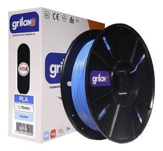 Filamento 3d Pla Grilon 3 Filamento Pla 1.75 1k Impresora 3d