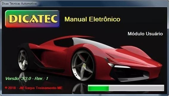 Dicatec 3.3 2018 - Diagrama Elétrico Automotivo Ativado